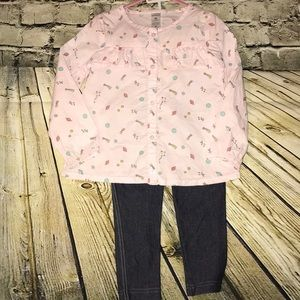 Carter's 4t Outfit